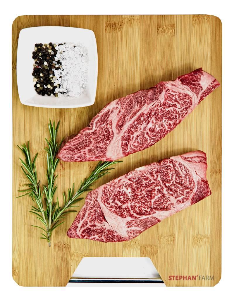Wagyu Chuck Steak im Rohzustand