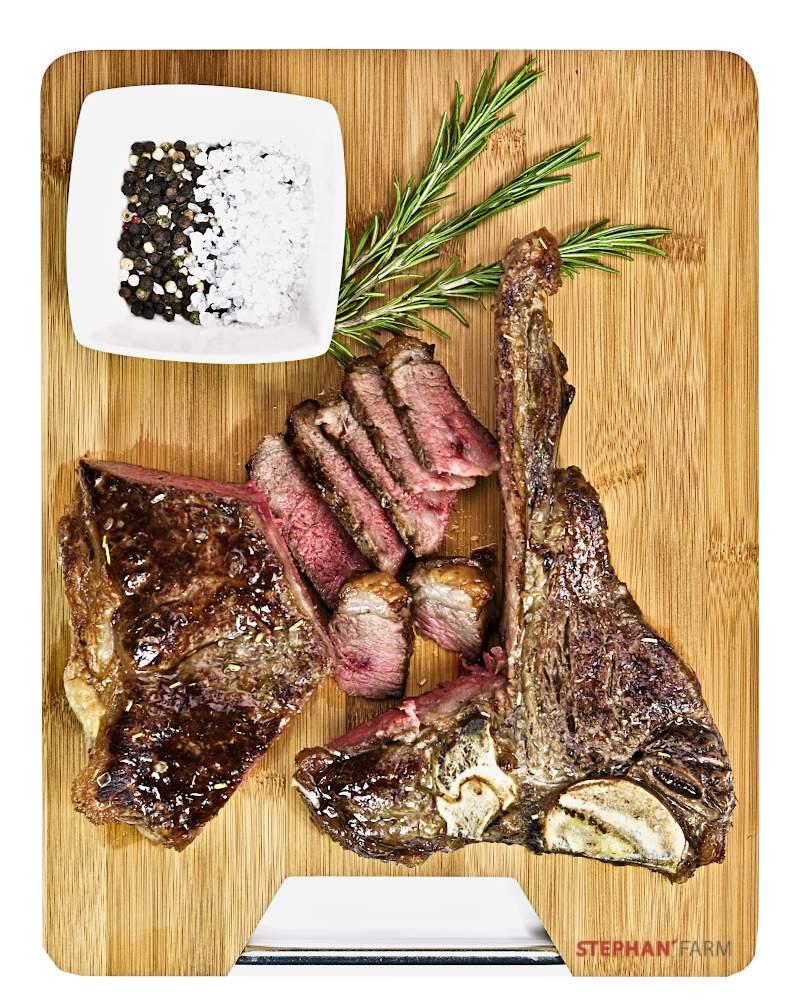 T-Bone Steak gebraten